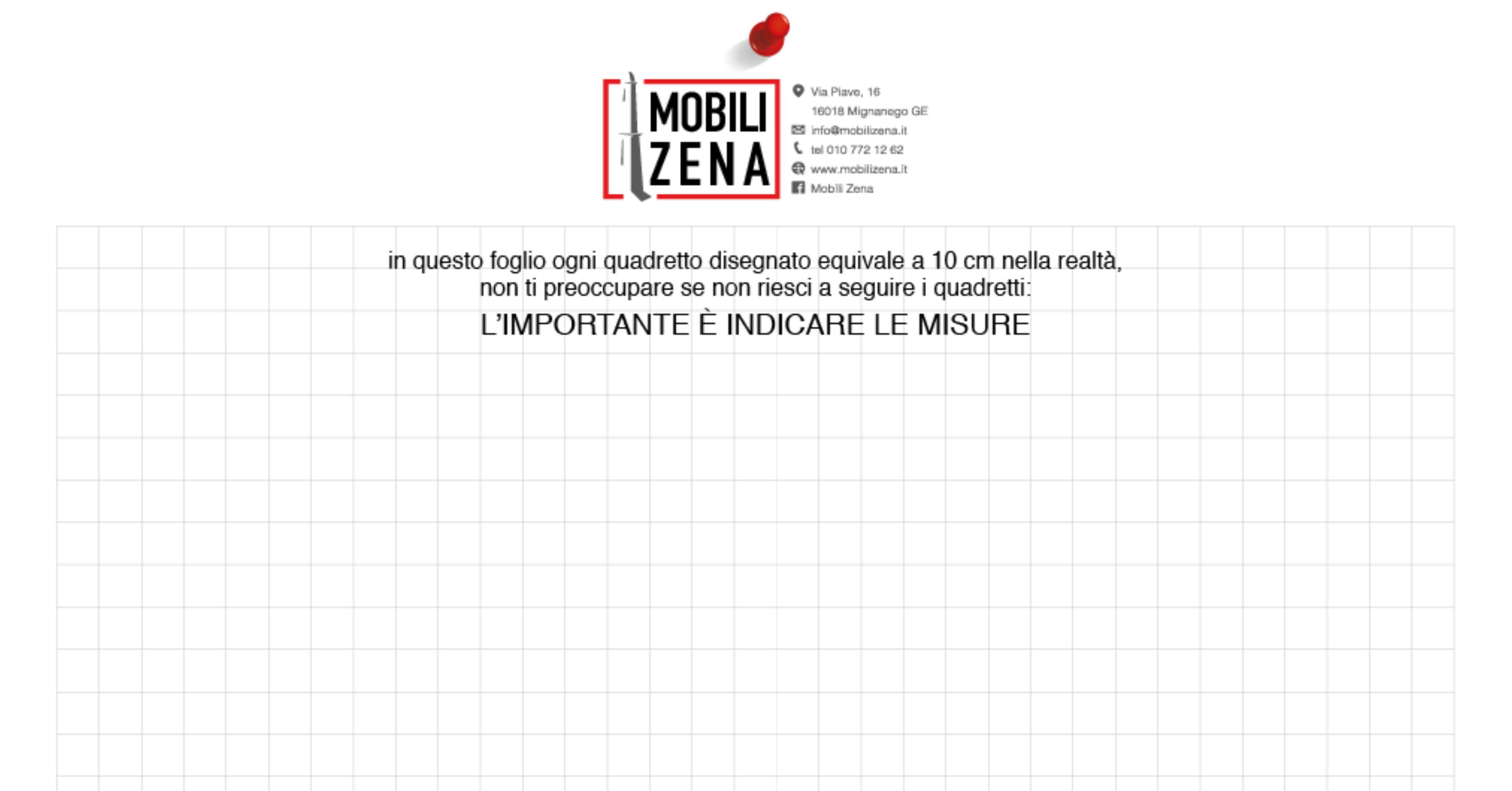 Mobili su misura a Genova_scrivi le misure